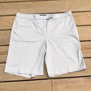 Talbots Plus Size Khaki Bermuda Shorts | Size 18